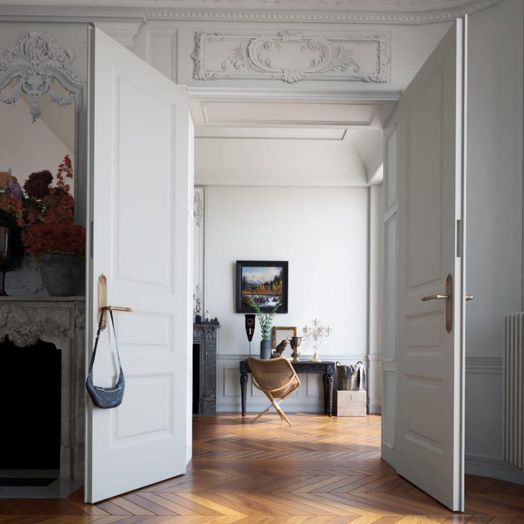 Classy Living Room Render | Nordvisual Studio
