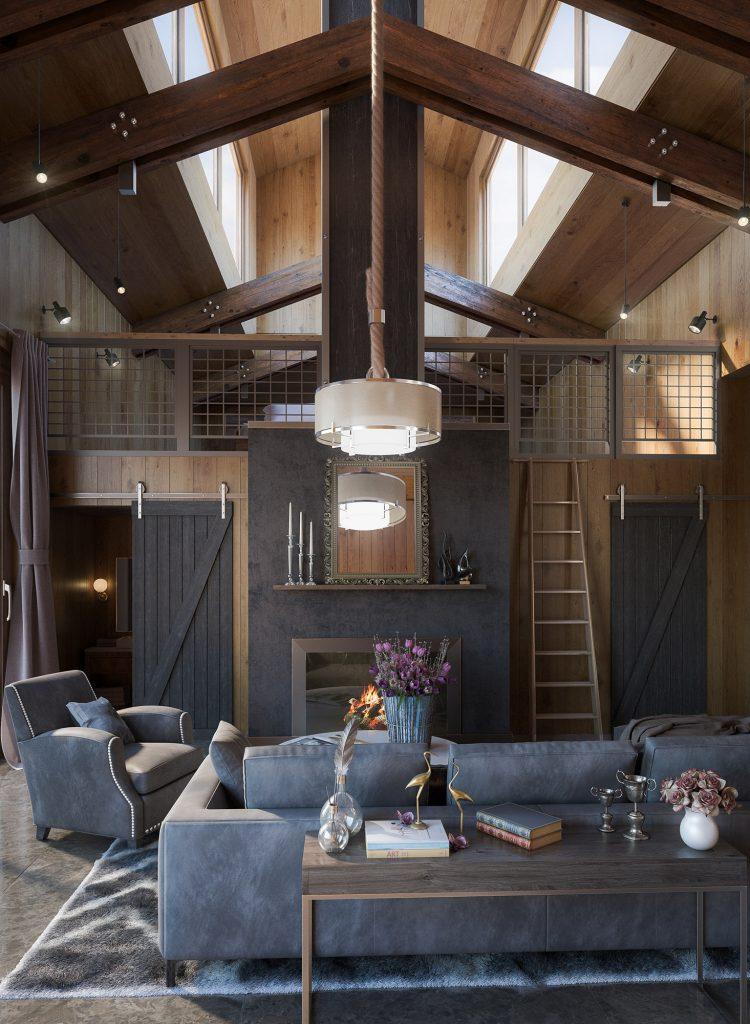Wooden House Render | Nordvisual