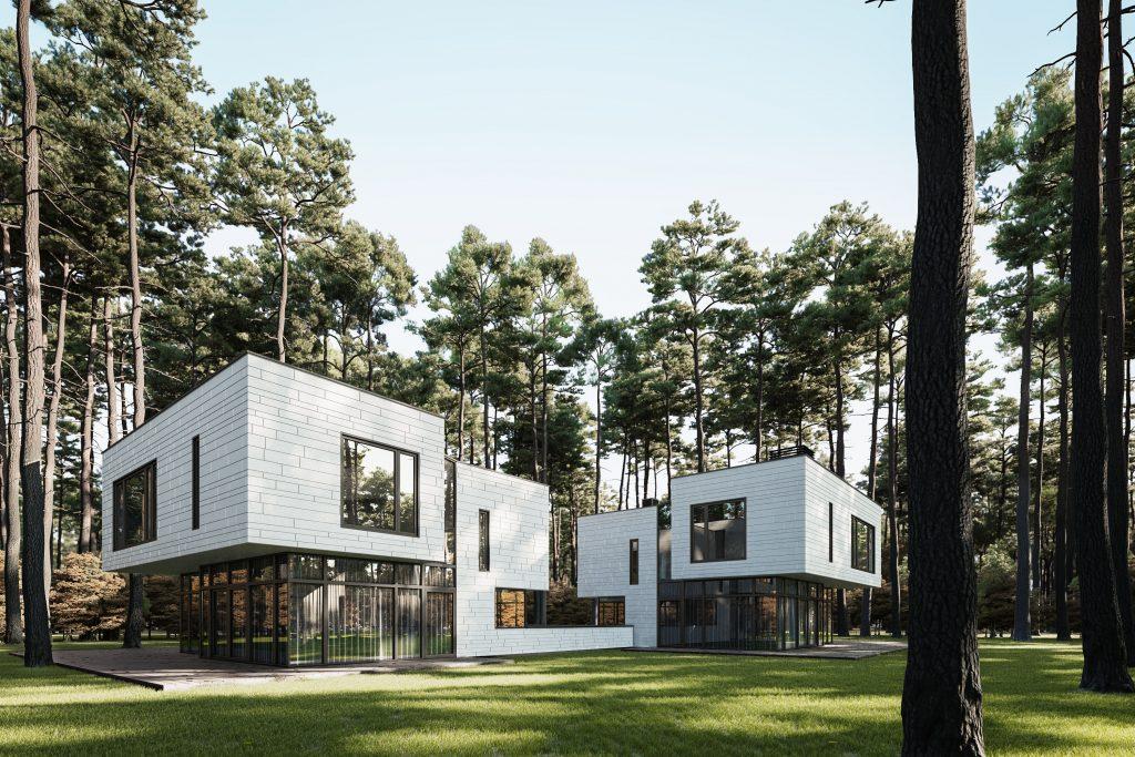 Duplex in the Woods | Nordvisual